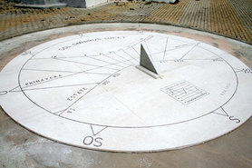 Orologi solari e meridiane: gnomonica al Parco Nord
