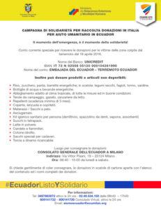 ParcoNord per L'Ecuador