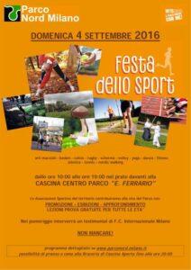 Festa dello Sport, non mancare!