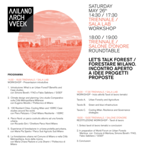 La storia del Parco a Milano Arch Week