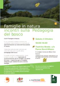 Famiglie in natura – incontri sulla pedagogia del bosco