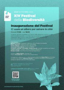 Inaugurazione del Festival della Biodiversità