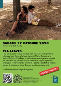 Tea leaves: musica live al Lago Niguarda