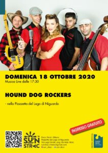 Hound Dog Rockers: musica live al Lago Niguarda