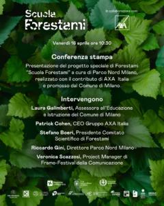 A scuola di forestazione urbana | Conferenza stampa