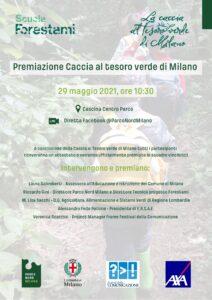 Premiazione Caccia al Tesoro Verde di Milano