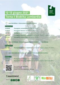 12 e 13 giugno: Bioblitz Lombardia