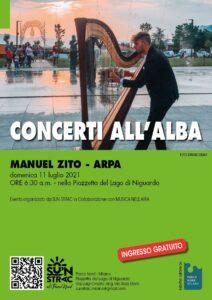Concerti all'alba: Manuel Zito – arpa | domenica 11 luglio