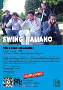 Sabato 10 luglio | Swing italiano al Lago Niguarda
