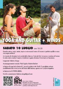 Yoga and guitar + Winds al Lago Niguarda | Sabato 10 luglio