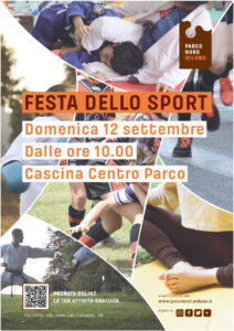 Domenica 12 settembre: Festa dello Sport 2021