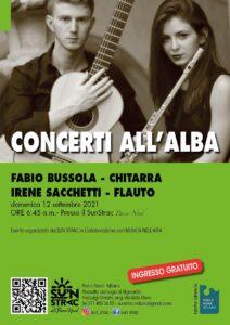 Domenica 12 settembre: concerto all'alba al Lago Niguarda