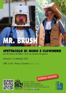 Mr. Brush: spettacolo di mimo e clownerie