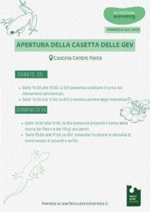Visite guidate e didattica nella Casetta GEV